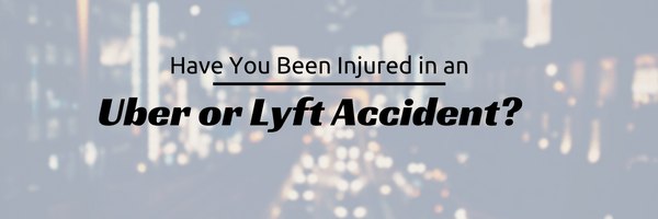 Uber or Lyft Accident